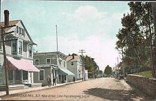 Lake Placid NY ~ Main St. Looking South ~ Adirondack Mountains ~ Essex County