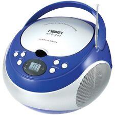 NAXA Naxa Portable Cd Player With Am And Fm Radio (blue)