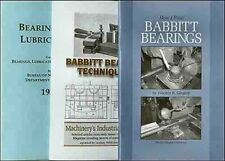 Three Books on Do It Yourself Pouring of Babbitt Bearings