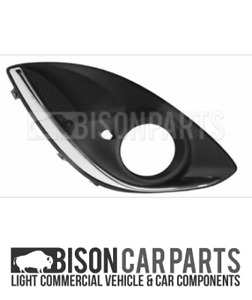 VAUXHALL CORSA D 2011 - 2014 FRONT BUMPER FOG GRILLE RIGHT DRIVER SIDE 140086
