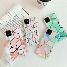 Case for iPhone 11 12 XR XS MAX 8 7 6 ShockProof Marble Phone Cover Silicone