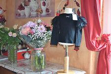 tee shirt repetto neuf noir froufrou  6 ANS froufrou black plume