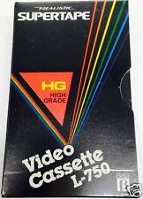 10 Stück Betamax  L-750 HG Realistic Supertape