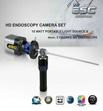Endoscopy Camera, Rigid Endoscope , LED Cold light source ENT HD Olympus Storz