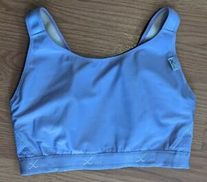 Details about  /CW-X Xtra Women/'s Versatx Running Bra 34 B//C Black Blue Yellow Polyester 165104
