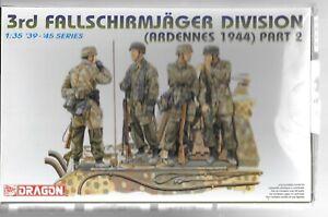 Bl Dragon Allemand Paratroopers, Ardennes 1944, Partage Fumée, Figurines 1/35