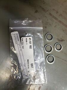 4161162 Fuel Filter Seal Fits Saab  Set of 4