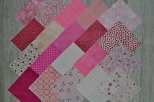 lot de 20 coupons de tissu patchwork Rose