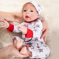 "20"" Lifelike Reborn Baby Doll Handmade Silicone Vinyl Lifelike Babies Xmas Gift"