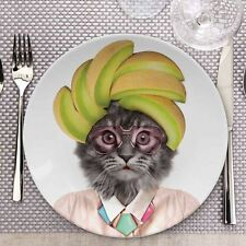 Novelty Wild Dining Dinner Plates. Funny Animal Party Plate Lion Panda Gorilla