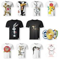 New Looney Tunes Taz Tweetie Silvestre Warner Bros Funny T-Shirt 3D Print S-7XL