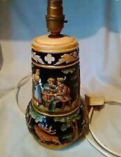 Vintage German Beer Stein Table Lamp