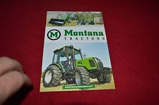 Montana Tractor Buyers Guide Dealer's Brochure YABE12