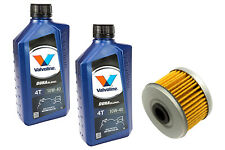 Motoröl Set 2 Liter DuraBlend 10W40 Ölfilter MF113 für Honda VT 125 C2 XL 125 V