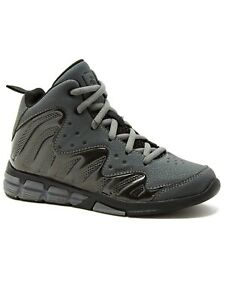 AND1 Boy's Assist Athletic Basketball Charcoal Shoe
