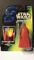 "Kenner Star Wars POTF 1997 3.75"" Emperor's Royal Guard Action Figure New Sealed"