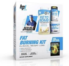 BPI Sports Fat Burning Kit Including Keto Bomb, Keto Weight Loss Fatburner, Cla+