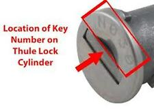 Lost Your Roof / Ski Rack / Roof Box Keys? Key Made To Code Number-FREE POSTAGE