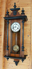 JUNGHANS  WALL CLOCK VIENNA BIEDERMEIER 1900