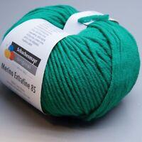 Schachenmayr Merino Extrafine 85 - 277 smaragd 50g Wolle (8.50 EUR pro 100 g)