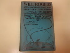 Will Rogers – Ambassador of Good Will 1935 Salesman Sample Dummy Book