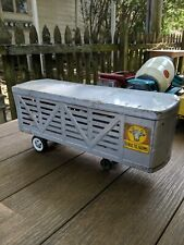 * STRUCTO PRESSED STEEL TOY  CATTLE FARM TRAILER ONLY.