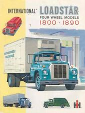 1962 International Loadstar 1800 1890 Truck Brochure wc2741-S8SCLP