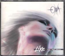 """ANNA OXA - RARO BOX 2 CD 1 STAMPA 1990 """" OXA LIVE CON I NEW TROLLS """""""