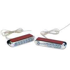 LED DRL Day Time Running Light Fog Light 8-LEDs Super White