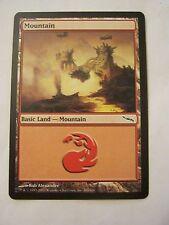 Magic The Gathering Basic Land Mountain Game Card #300 of 306 (011-47)