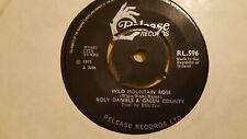"ROLY DANIELS & GREEN COUNTRY - Wild Mountain Rose - IRISH SHOWBAND 7"" 1971"