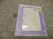 Microscale decals N 60-912 New York Central B A early passenger 1900-39    H94