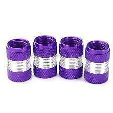 Púrpura Metálico Aleación Metal Válvula de rueda neumático de polvo de acero caps (DC5/P) MC17/5