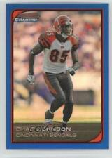 2006 Bowman Chrome Blue Refractor /150 Chad Johnson #179