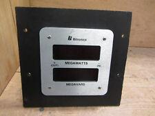 Bitronics TDTIE1 Meter Megawatts Megavars Used CSQ