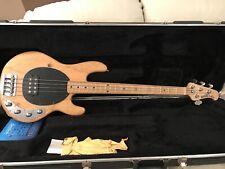 More details for ernie ball 2001 musicman stringray bass 4 string 3 band eq active bass