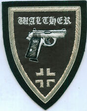German Army Walther Gun Pistol Auto Unit Officer War Battle Cross Patch P 38 9 M