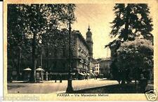 em 119 Anni 30 PARMA -Via Macedonio Melloni - non viagg.- FP  Ed.Bocchialini