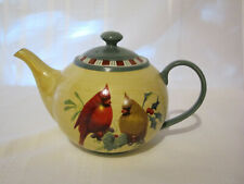 Lenox Winter Greetings Everyday Teapot - Perfect Condition!!