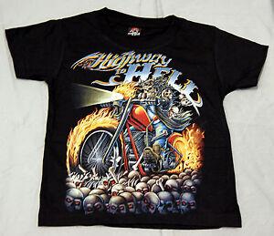 Kinder T-Shirt Highway to Hell Gr. 2-4 Jahre bis 10-12 Jahre Sonder Angebot