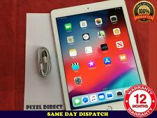 "PERFECT Apple iPad Air 2 64GB WiFi 9.7"" WHITE SILVER RETINA +TOUCH ID iOS 12"