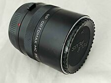 Olympus OM Fit ~ Optomax 3X Teleconverter - Clear Optics - Working Perfectly
