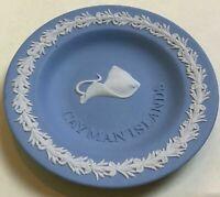 "WEDGWOOD Blue Jasperware CAYMAN ISLANDS 4 1/2"" Miniature Dish"