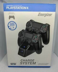 PDP Energizer Duel Controller Charging System PS4 New Sealed