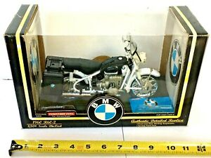 NIB TOOTSIE TOY 1960 BMW R60-2  1/10th SCALE DIE CAST MOTORCYCLE BLACK RARE