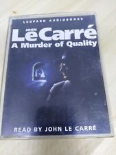 JOHN LE CARRE AUDIO BOOK A MURDER OF QUALITY CASSETTE TAPE