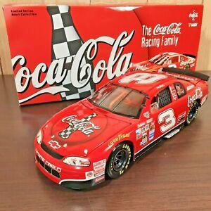Dale Earnhardt #3 Coca-Cola 1998 Chevy Monte Carlo Action 1:24 Diecast NASCAR