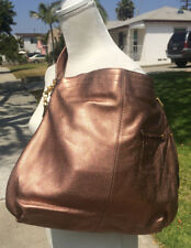 B. Makowsky Copper Color Designer Leather Purse