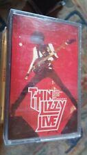 """Thin Lizzy,""""BBC Radio 1 Live in Concert"""" Rare cassette"""