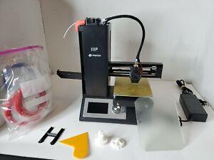 Monoprice MP Select Mini 3d Printer V2 Black  with Glass Bed - Comes w/ Filament